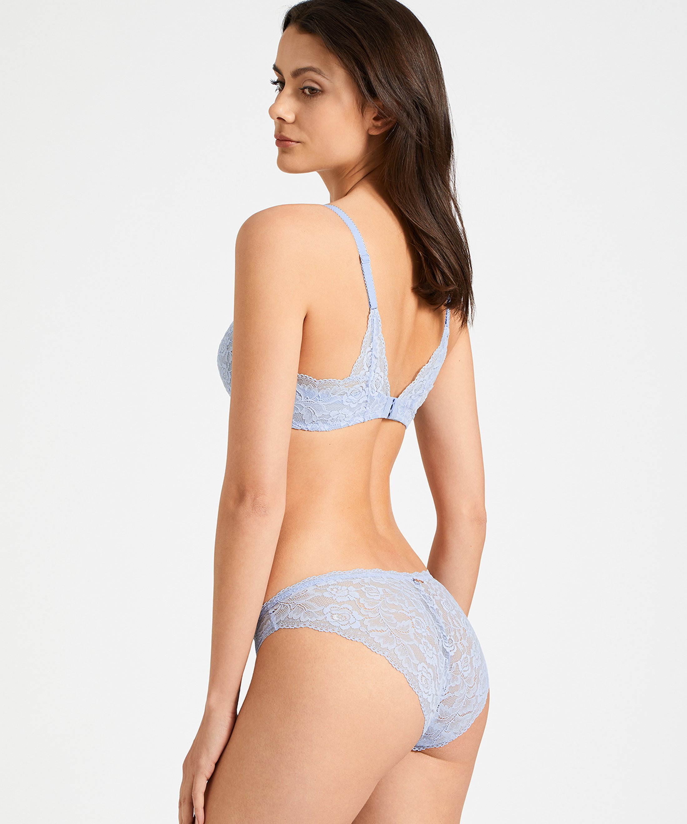 ROSESSENCE Culotte Italienne Powder Blue | Aubade