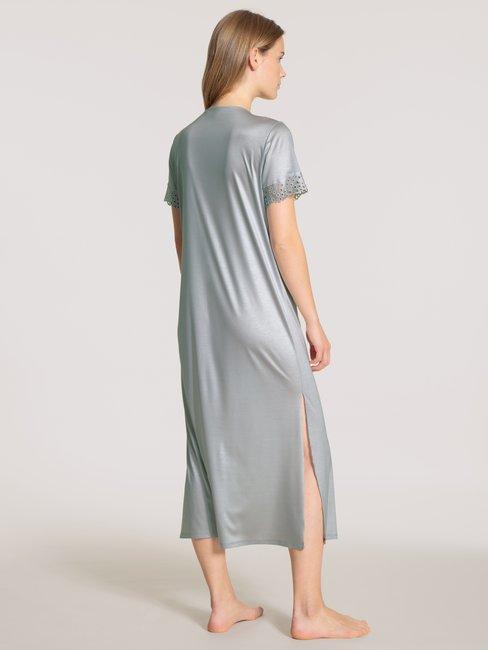 CALIDA Glamorous Nights Kurzarm-Nachthemd, Länge 125cm