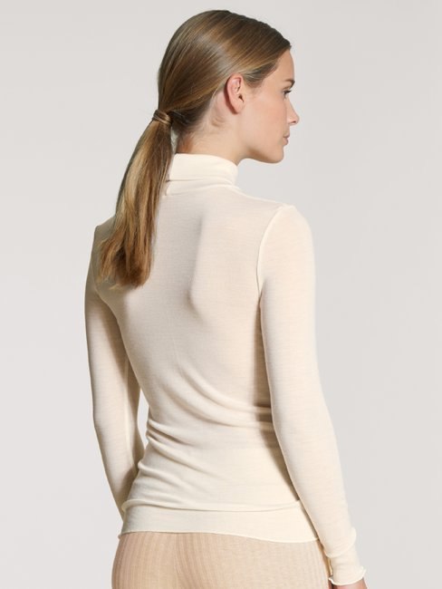 CALIDA Second Skin Langarm-Shirt, Rollkragen