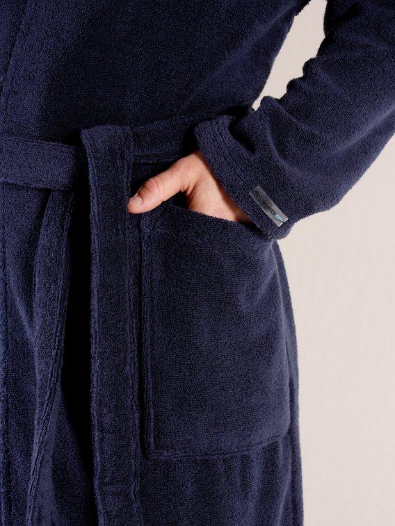 TAUBERT Sauna Bademantel Kimono Länge 120 cm
