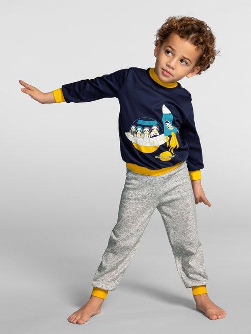 CALIDA Toddlers Astronaut Kinder Bündchen-Pyjama