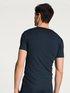 CALIDA Clean Line Kurzarm-Shirt, V-Neck
