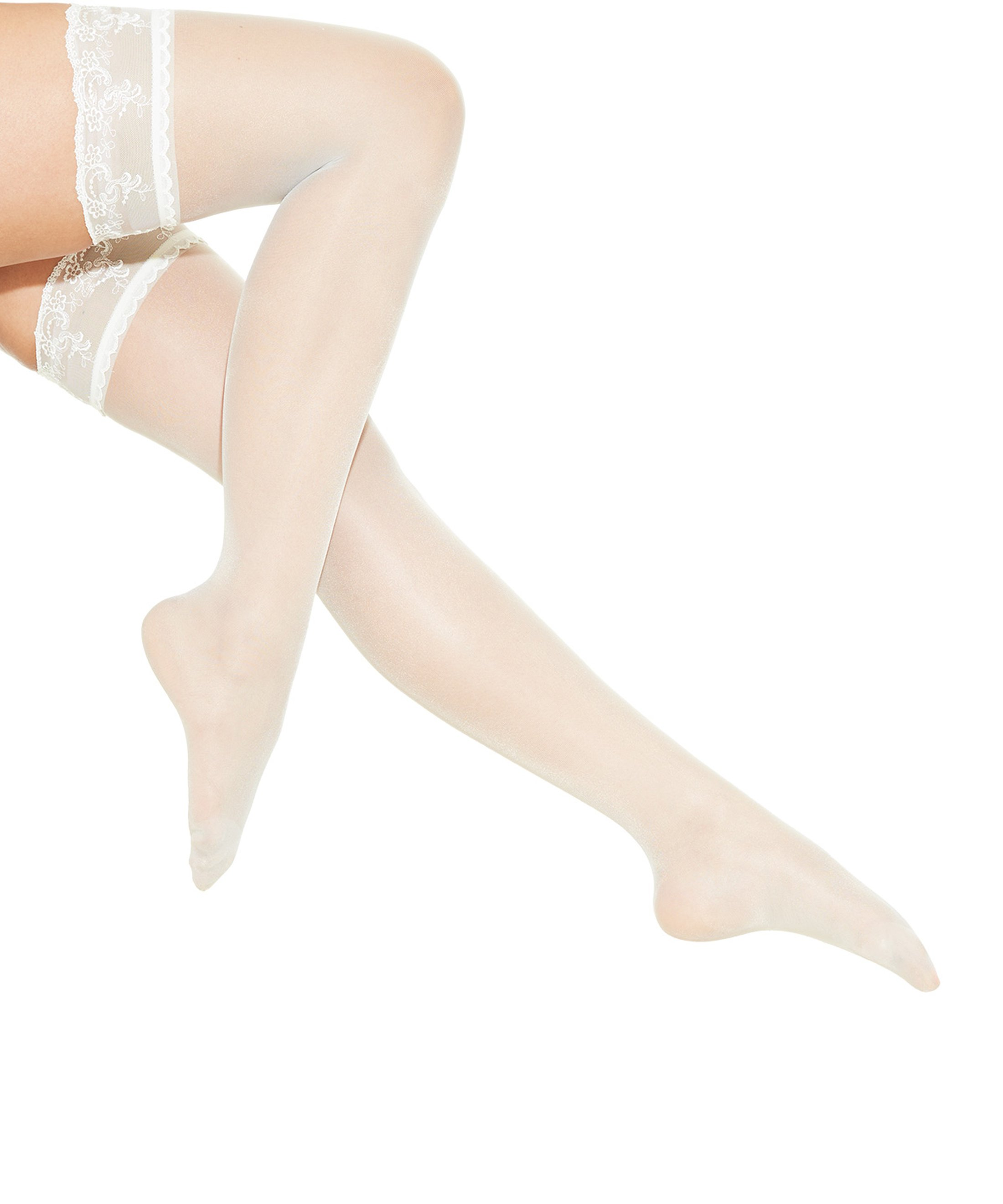 AUBADE À L'AMOUR Stockings Nacre | Aubade