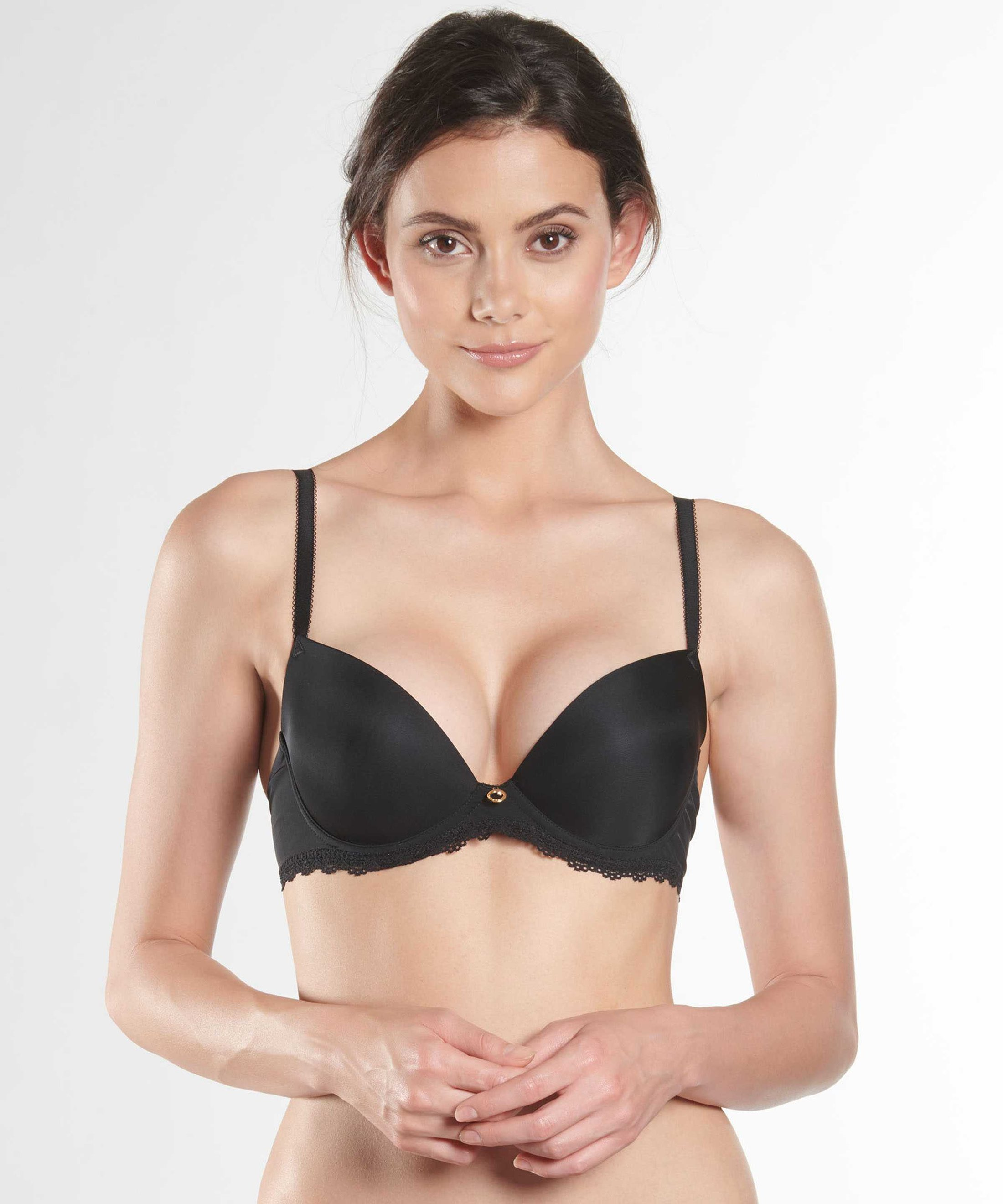 LYSESSENCE Moulded push-up bra Black | Aubade