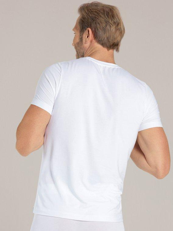 SCHIESSER Long Life Soft T-Shirt, V-Ausschnitt