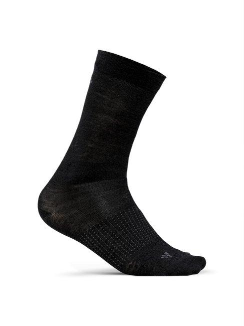 CRAFT Stay Warm Wool Liner Socks, 2-Pack