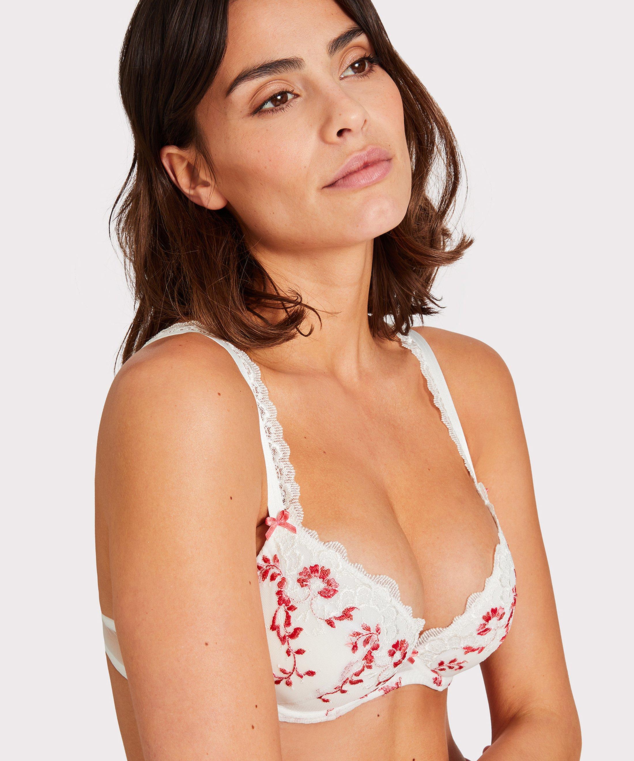 ROMANCE D'ÉTÉ Push-up bra White Begonia | Aubade