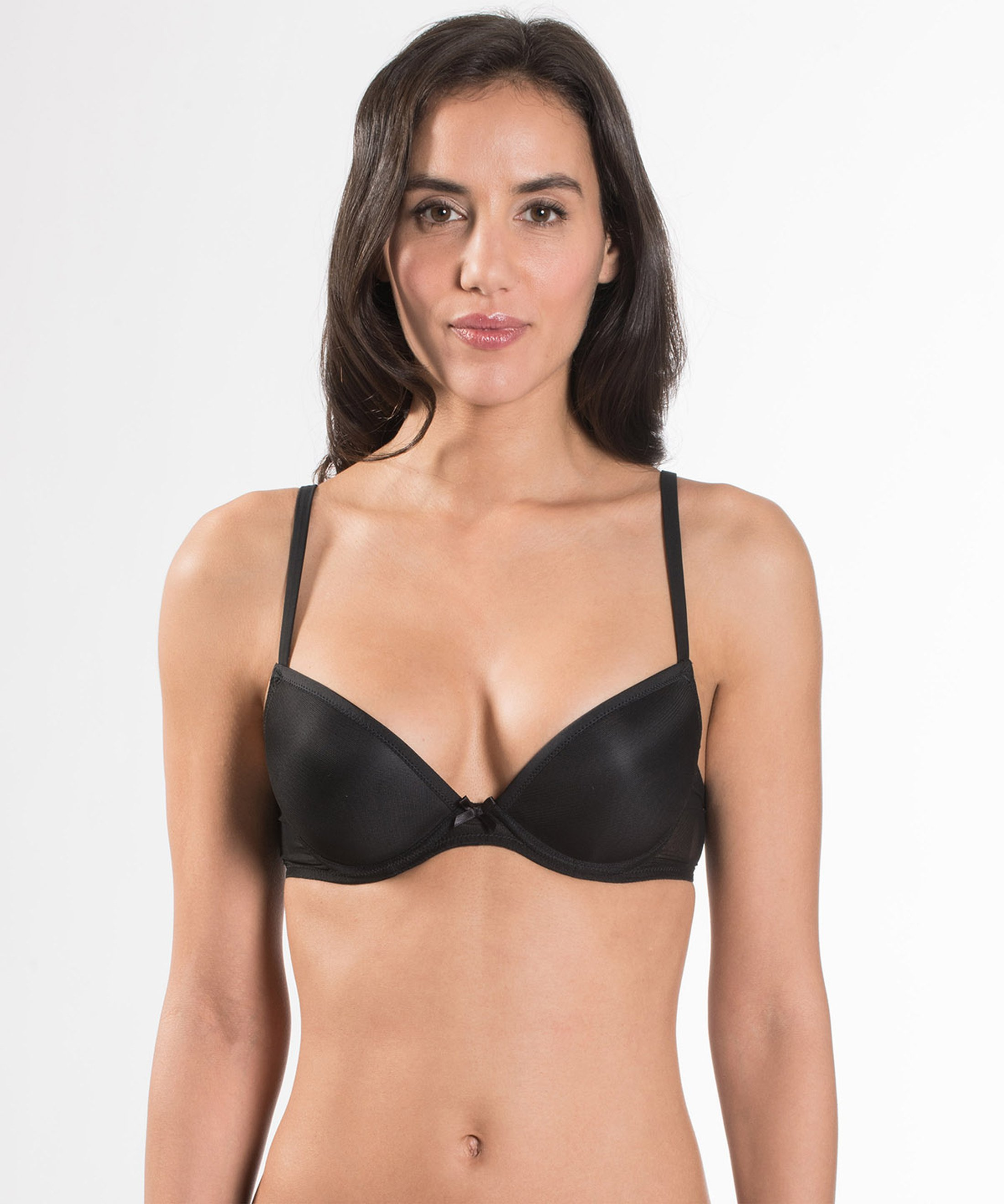 NUDESSENCE Moulded Push up Bra Black | Aubade