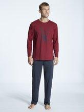 TOM TAILOR Nightwear Pyjama lang