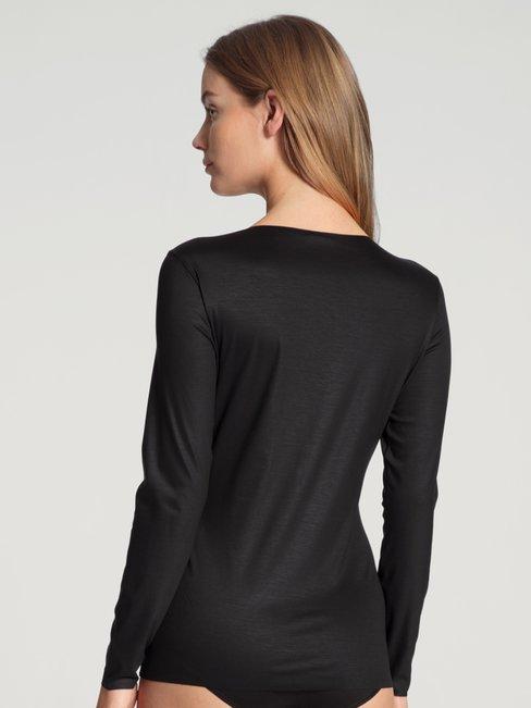 CALIDA Natural Luxe Langarm-Shirt