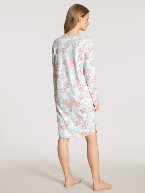 CALIDA Tender Nights Langarm-Nachthemd, Länge 100cm