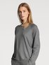 CALIDA Favourites Lounge Shirt long sleeve, french terry