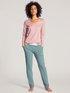 CALIDA Favourites Sunkiss Langarm-Shirt, V-Neck