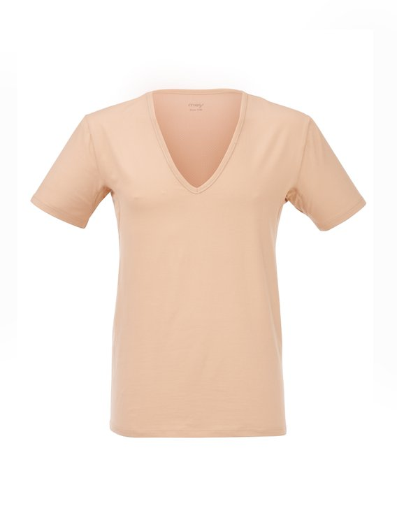 MEY Dry Cotton Functional Business Shirt mit V-Neck