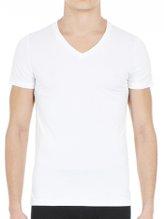 HOM Supreme Cotton T-Shirt mit V-Ausschnitt
