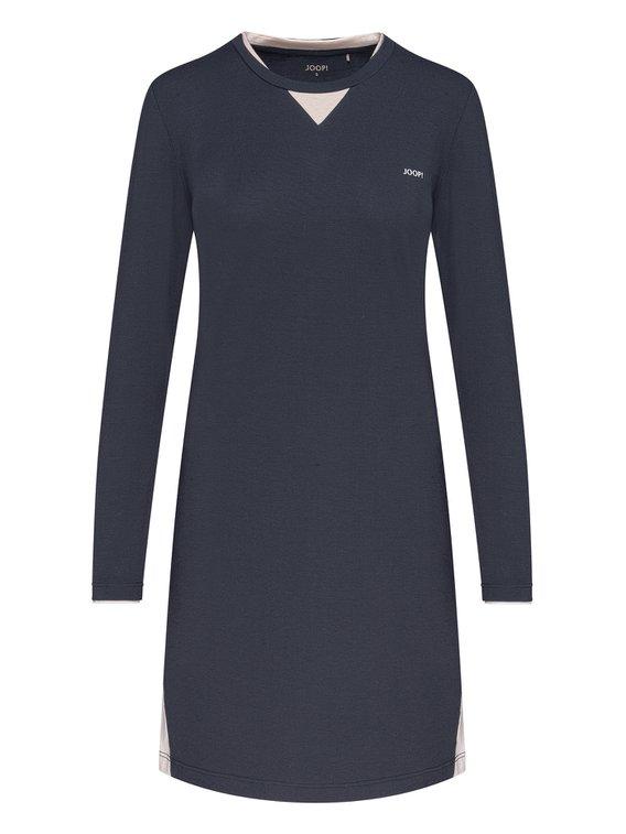 JOOP! Easy Leisure Langarm-Nachthemd, Länge 95cm