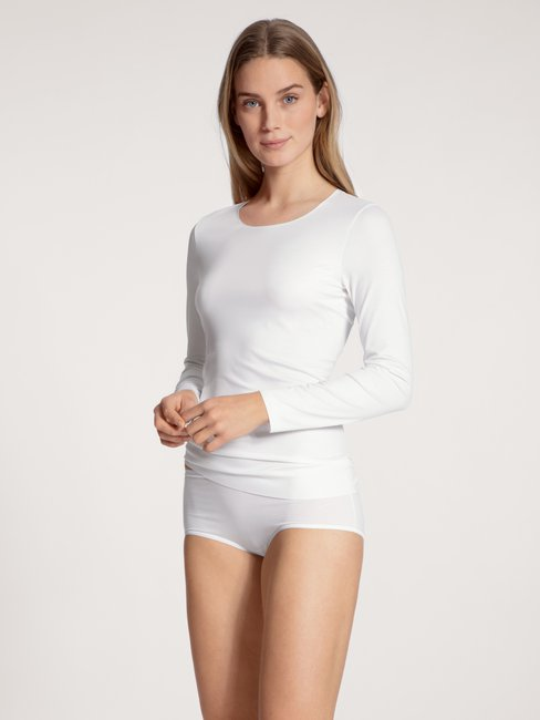 CALIDA Natural Luxe T-shirt à manches longues