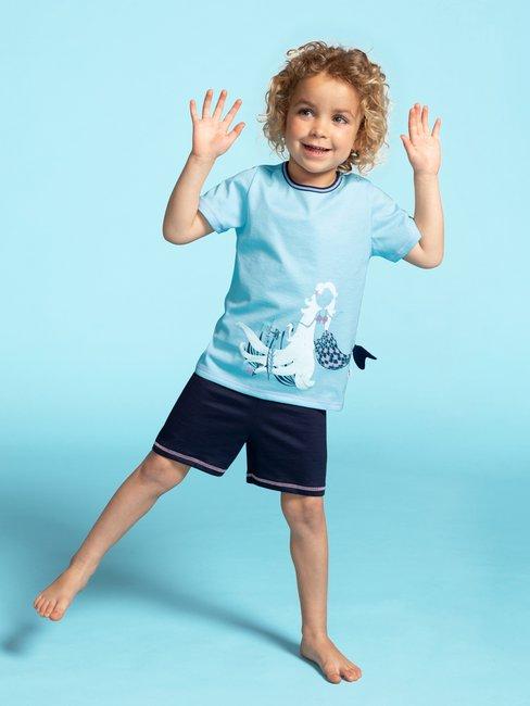 CALIDA Toddlers Mermaid Kinder Kurz-Pyjama