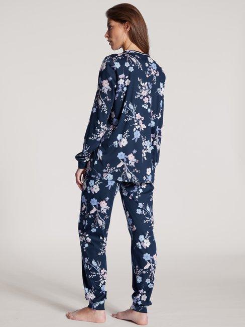 CALIDA Cosy Cotton Nights Bündchen-Pyjama