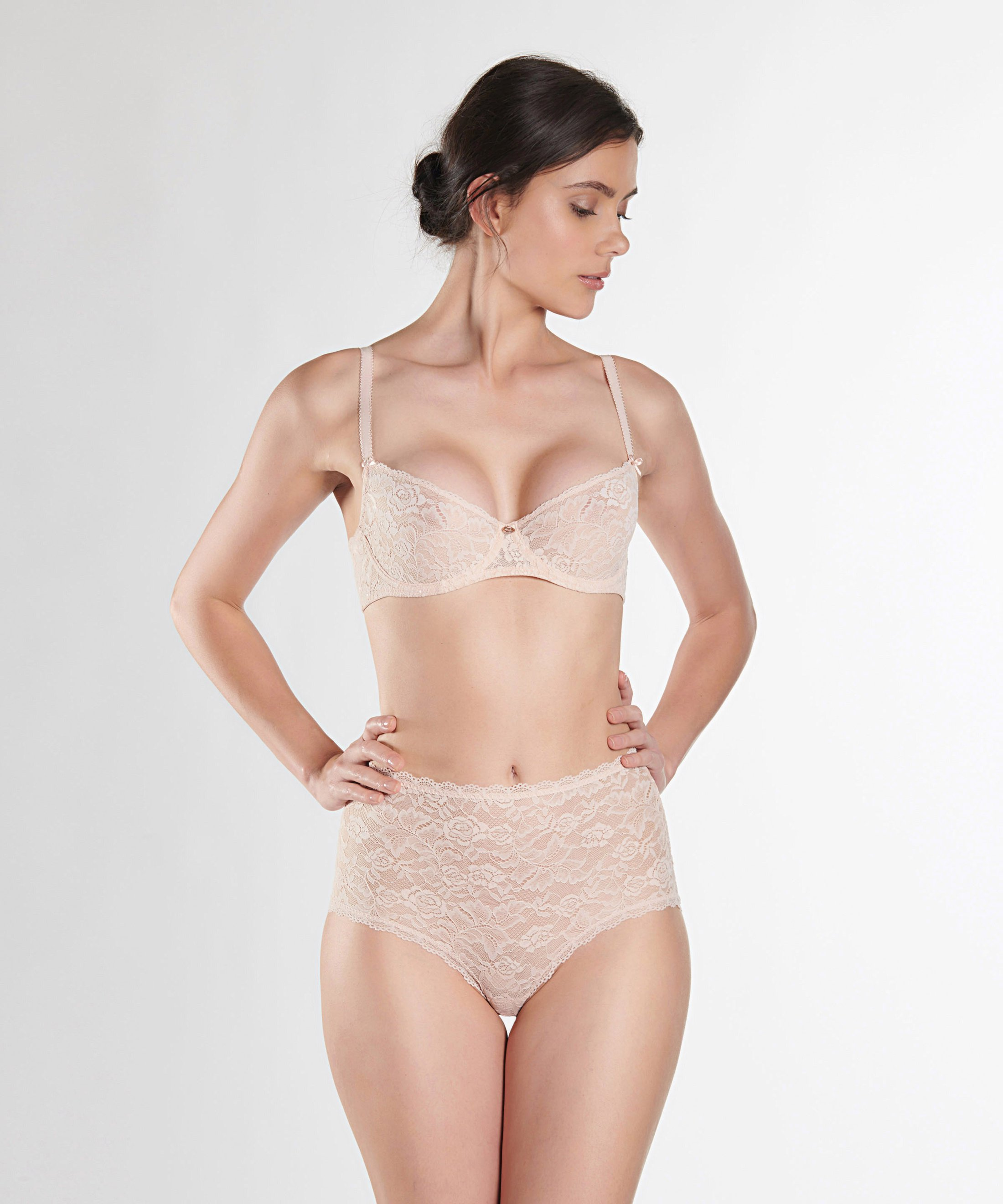 ROSESSENCE Culotte taille haute Nude d'Été | Aubade