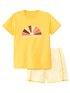 CALIDA Girls Sunshine Mädchen Kurz-Pyjama