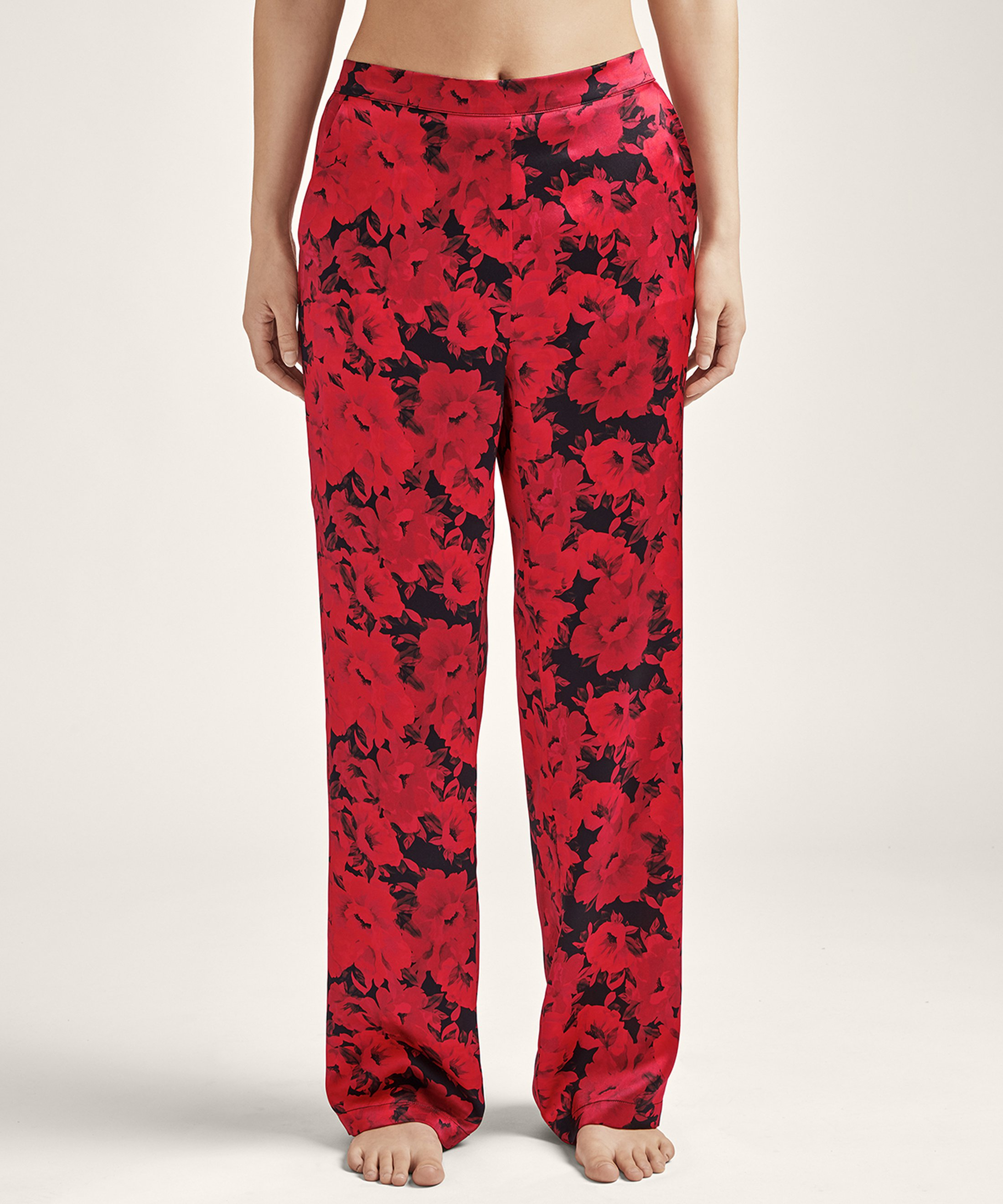 TOI MON AMOUR Silk Pants Opéra Red | Aubade