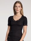 CALIDA Richesse Lace Top kurzarm