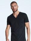 ZIMMERLI Pure Comfort Kurzarm-Shirt, V-Neck