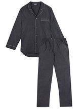 ZIMMERLI Woven Nightwear Pyjama, durchgeknöpft