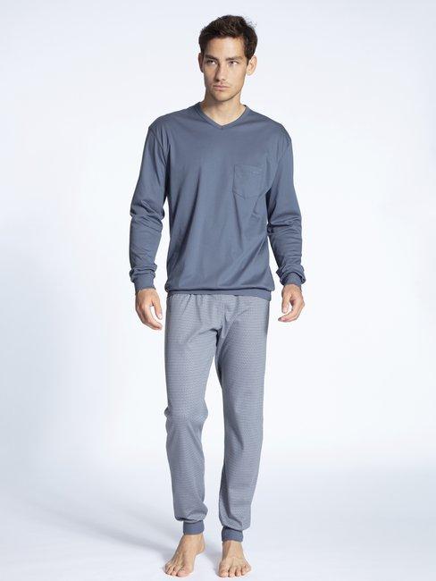 CALIDA Relax Streamline 2 Bündchen-Pyjama