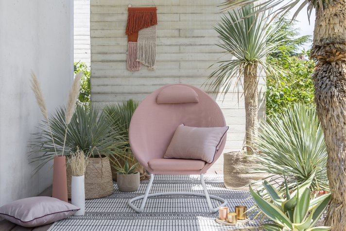 The outdoor furniture to choose for a moderne terrace
