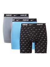 NIKE Everyday Cotton Stretch Boxer Brief, 3er-Pack