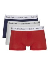 CALVIN KLEIN Cotton Stretch Low Rise Trunk, 3er-Pack