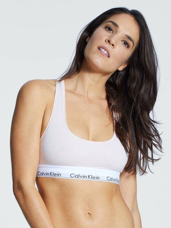 CALVIN KLEIN Modern Cotton Bustier mit Logobund