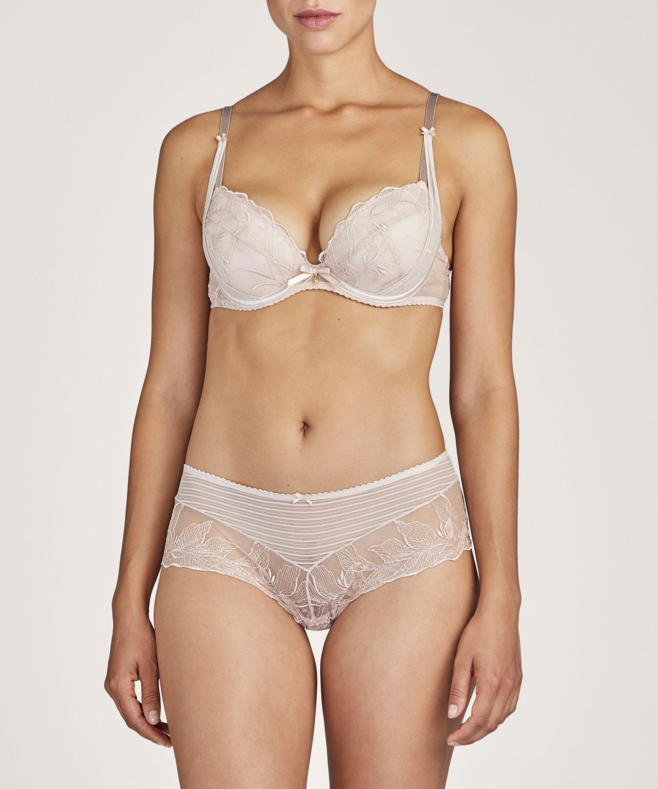 FLEUR DE TATTOO Shorty St-Tropez Nude Skin | Aubade