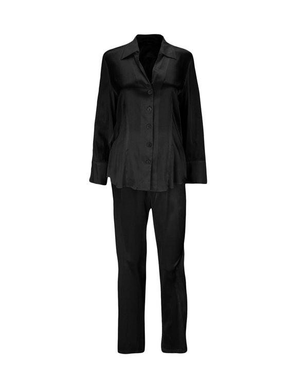 EVA B.BITZER Silk Stretch Seiden-Pyjama