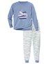 CALIDA Girls Whale Mädchen Bündchen-Pyjama