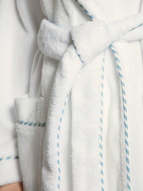 CALIDA After Shower Frottee-Bademantel mit Schalkragen, 120cm