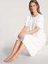 CALIDA Soft Cotton Kurzarm-Nachthemd, Länge 110cm