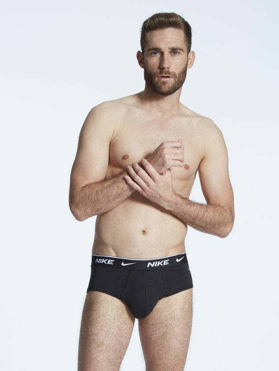 NIKE Everyday Cotton Stretch Brief, 3er-Pack
