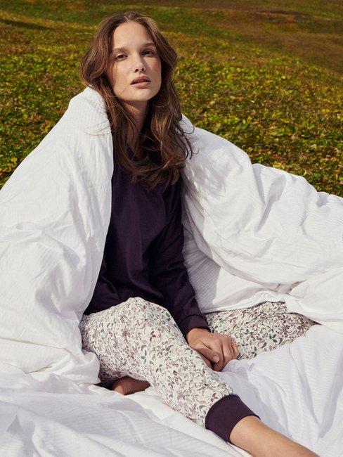 CALIDA Autumn Dreams Bündchen-Pyjama