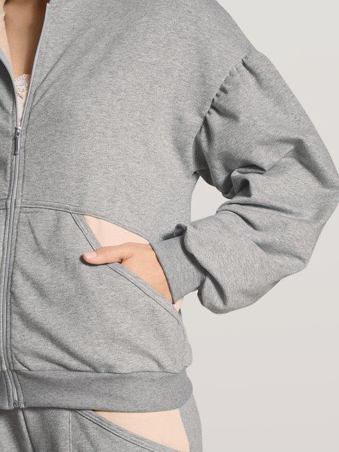 CALIDA Favourites Active Lounge-Jacke mit Kapuze