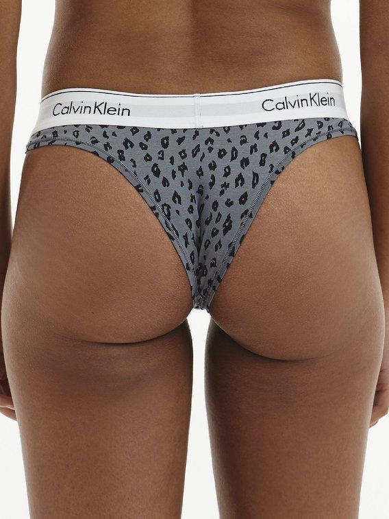 CALVIN KLEIN Modern Cotton String mit Logobund
