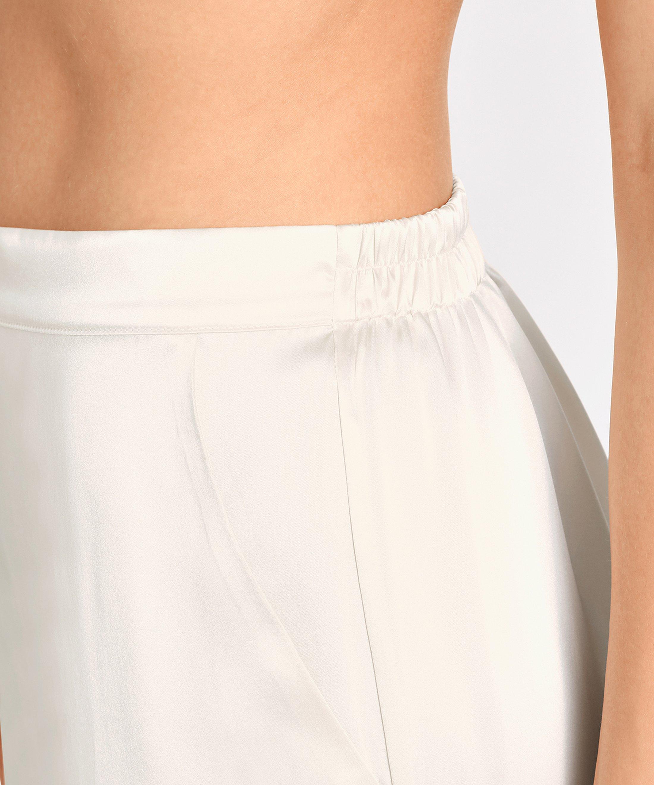 TOI MON AMOUR Pantalon en soie Nacre | Aubade