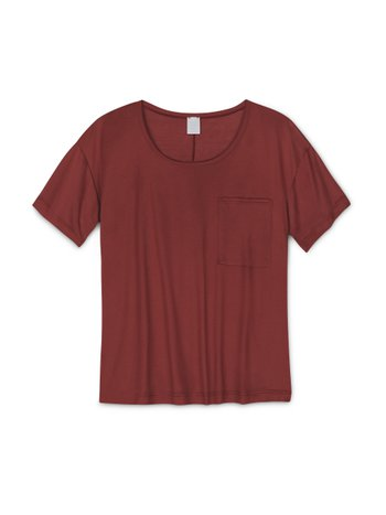 CALIDA 100% Nature Damen Kurzarm-Shirt, Compostable