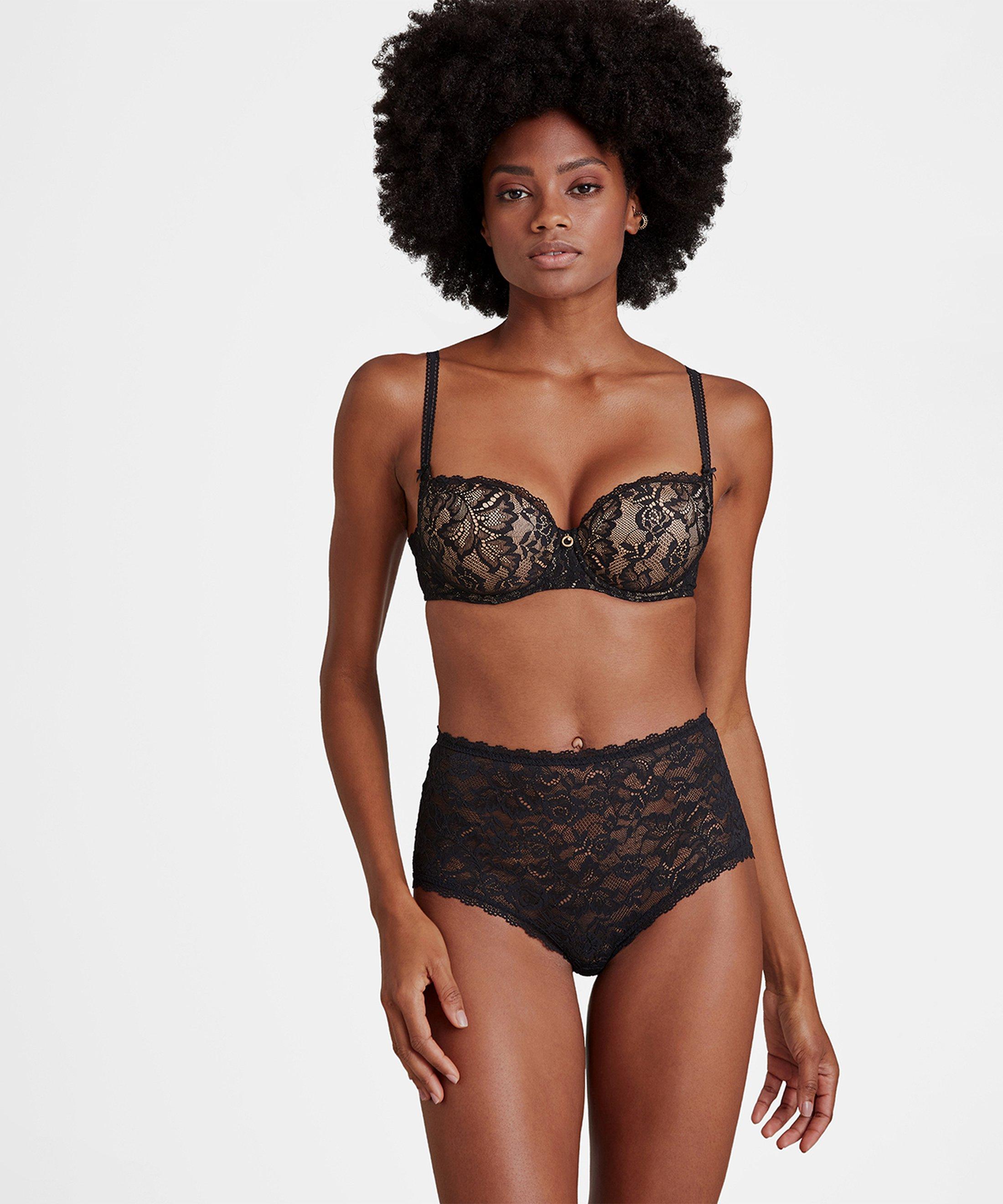 ROSESSENCE Culotte taille haute Noir | Aubade