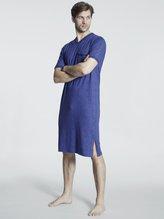 RINGELLA Men Kurzarm-Nachthemd, Länge 110 cm