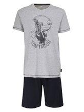 TOM TAILOR Pure Cotton Kurz-Pyjama