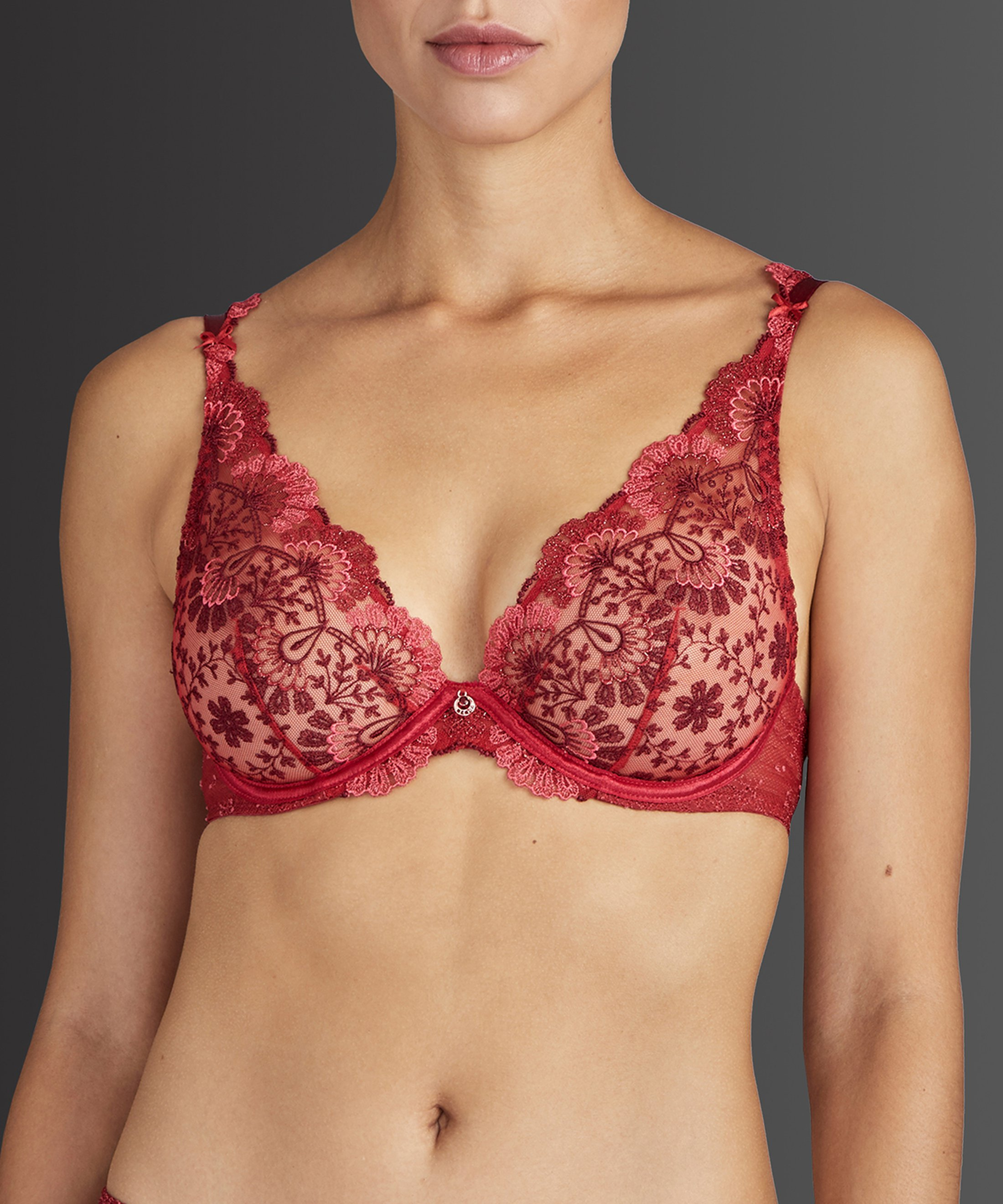 ART OF INK Soutien-gorge triangle avec armatures French Red | Aubade
