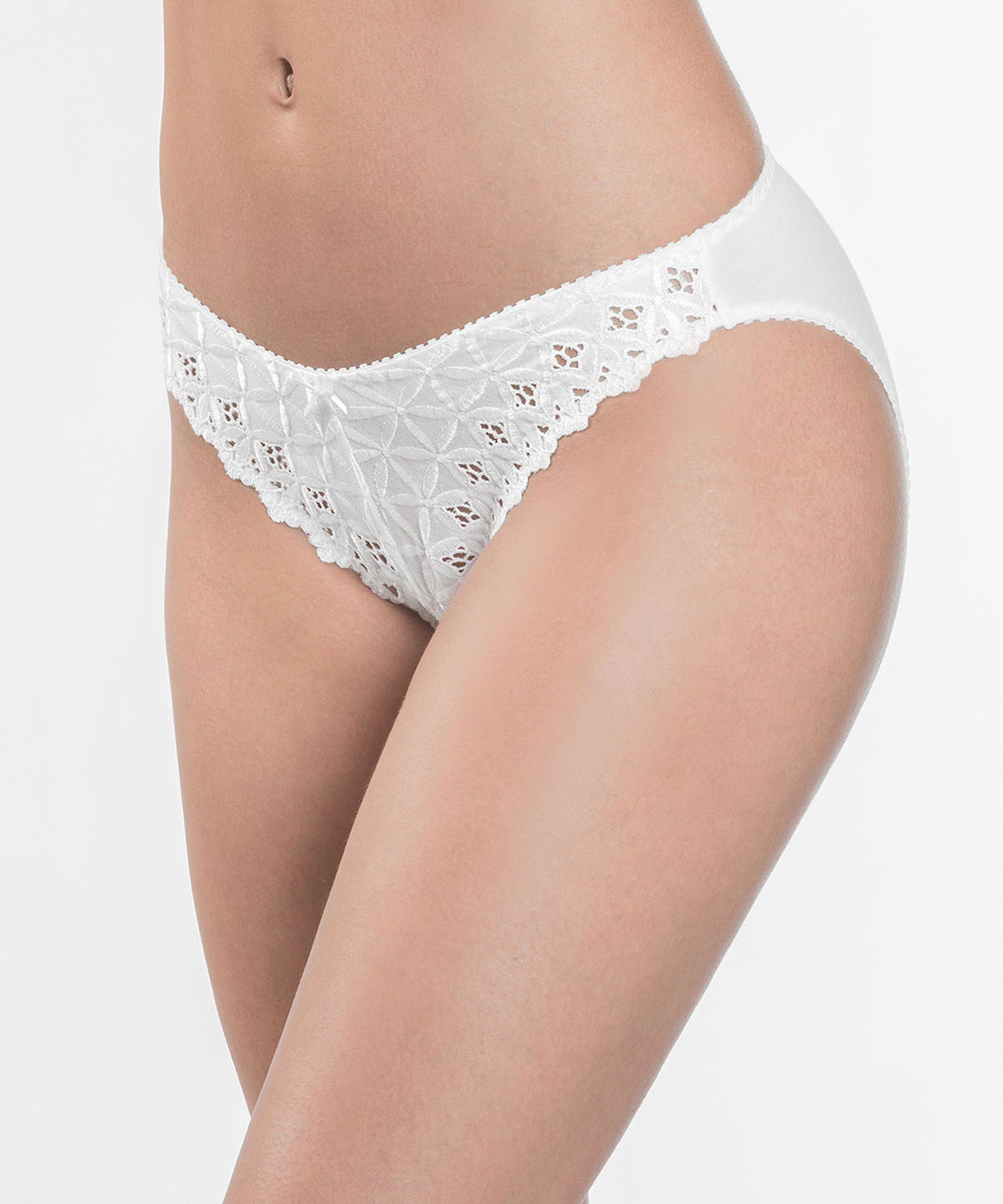BAHIA Culotte Brésilienne Blanc | Aubade